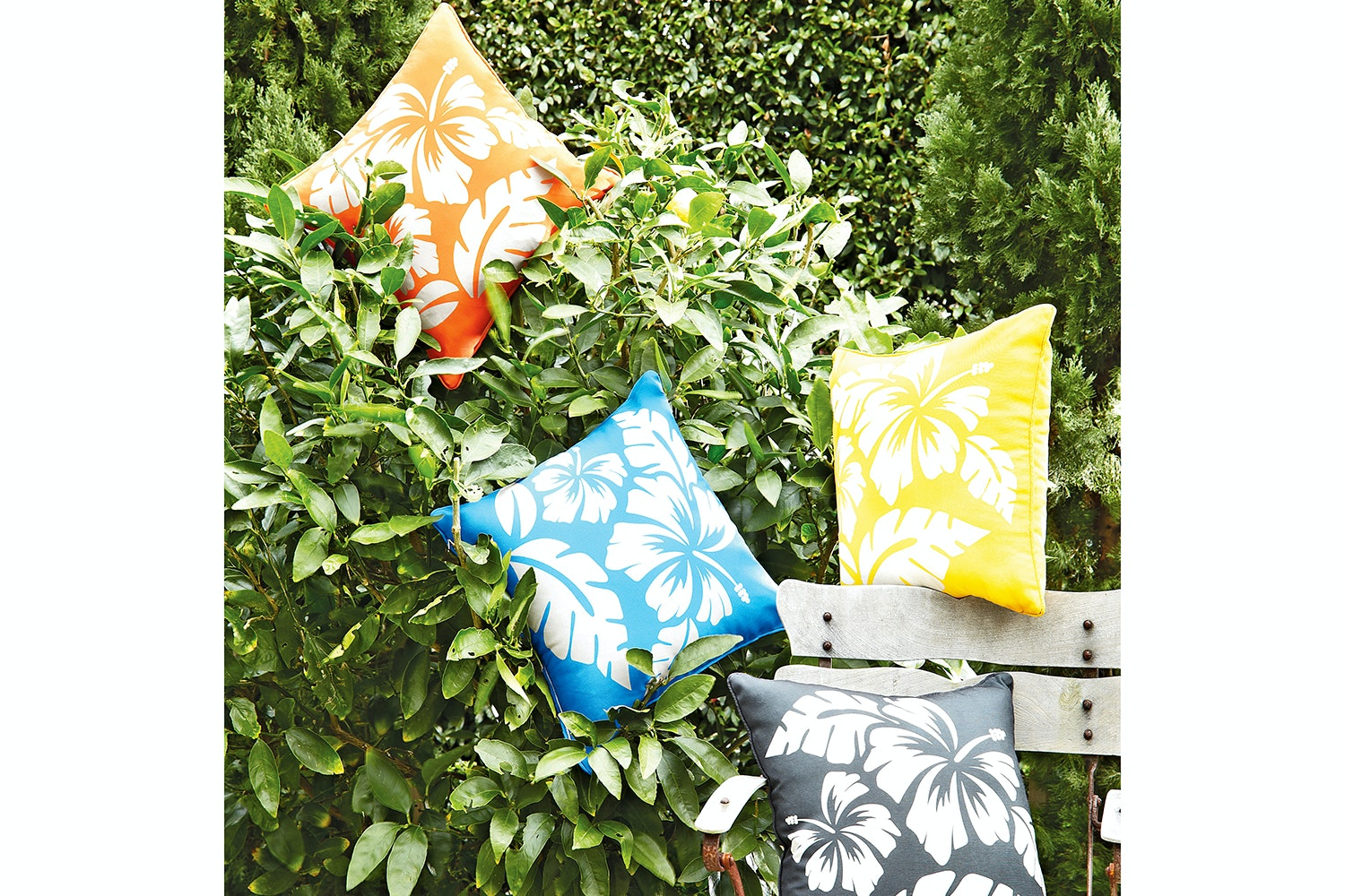 Frangipani Outdoor Cushion by Limon Floor