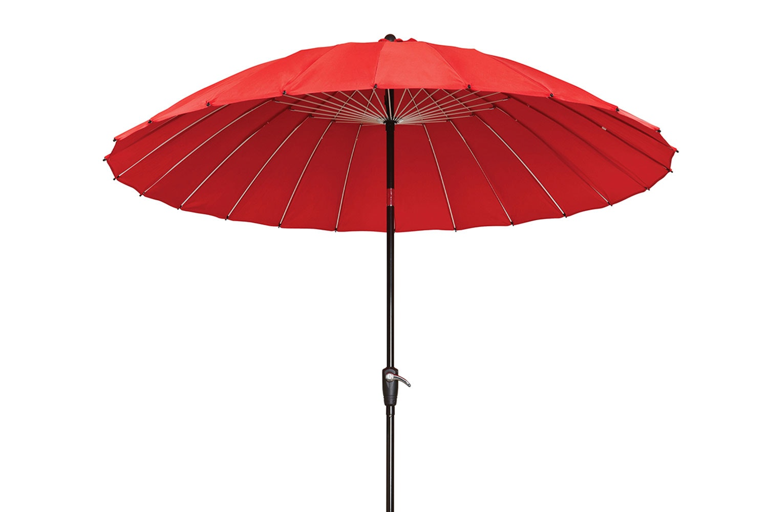 Oriental 2.7m Outdoor Umbrella  - Red - Peros
