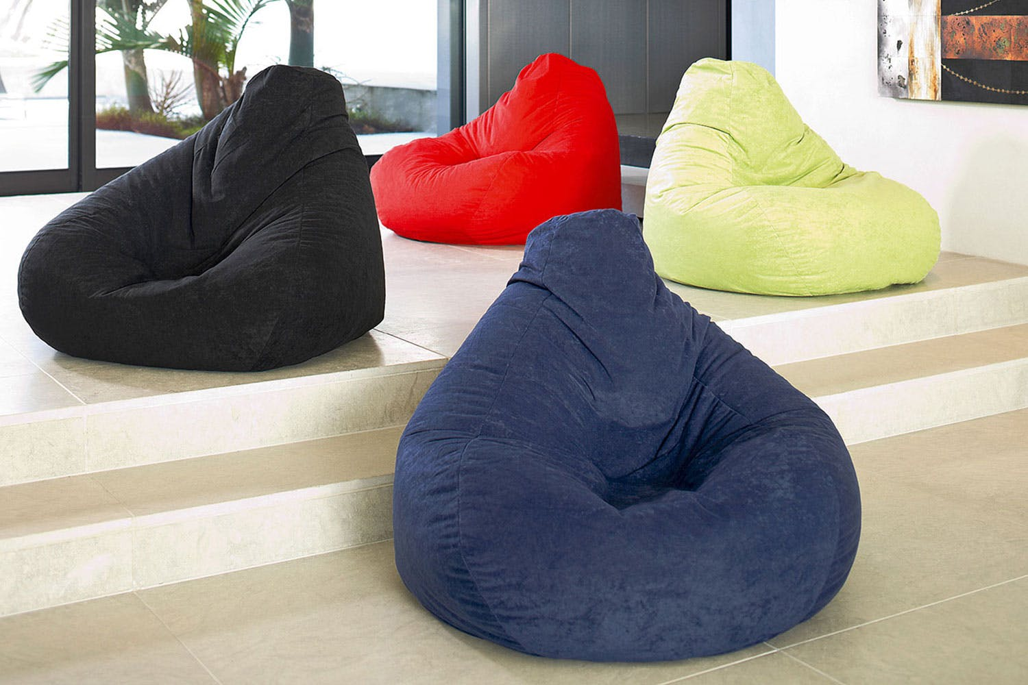 Tamara Bean Bag Lime Red c6c6ae77bac87