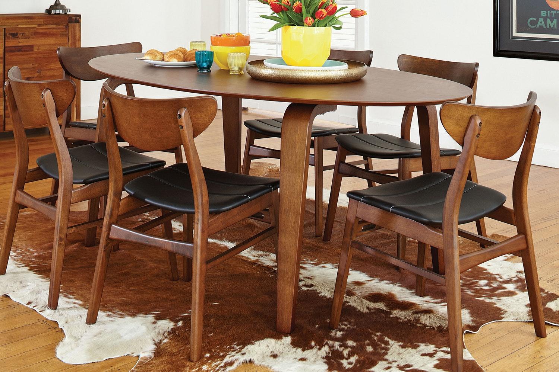 Brady 7 Piece Dining Suite by Nero Furniture