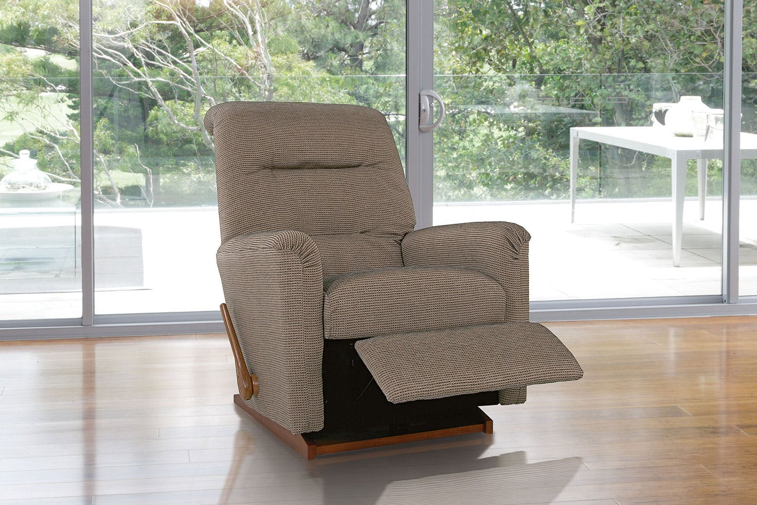 idaho fabric recliner chair by la z boy harvey norman new zealand