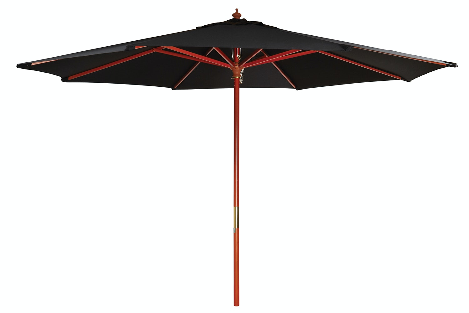 Kosmo 2.7m Outdoor Umbrella - Black - Peros