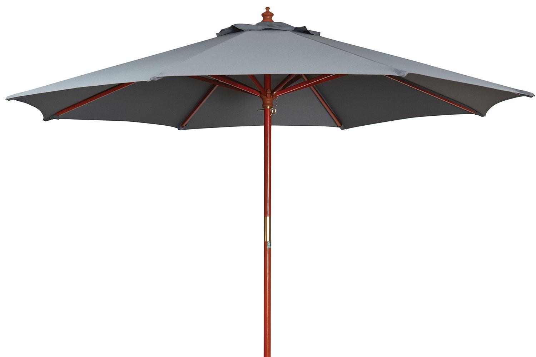 Kosmo  2.7m Outdoor Umbrella - Charcoal - Peros