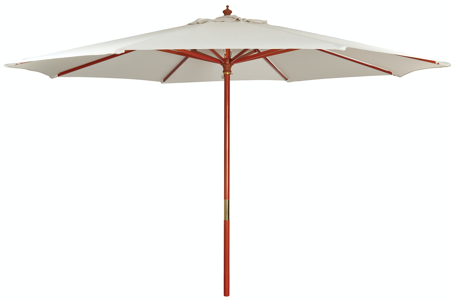 Kosmo 3.5m Natural Outdoor Umbrella -Natural - Peros