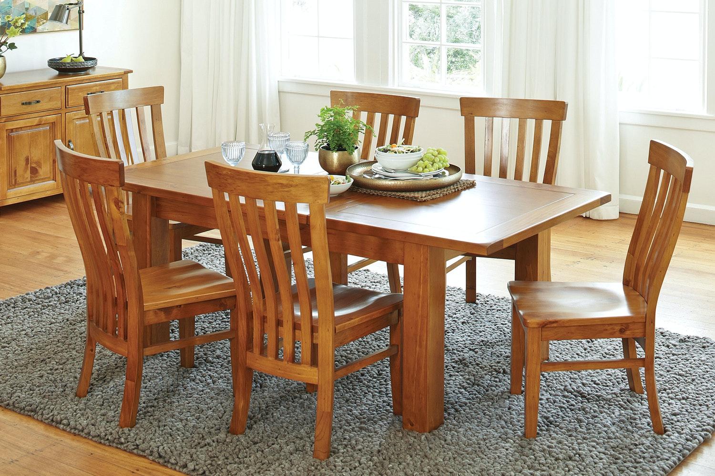 Monterey 7 Piece Extension Dining Suite by Debonaire