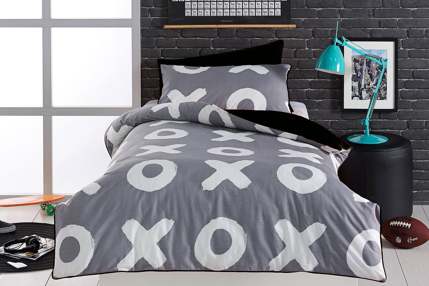 Naughts and Crosses Duvet Cover