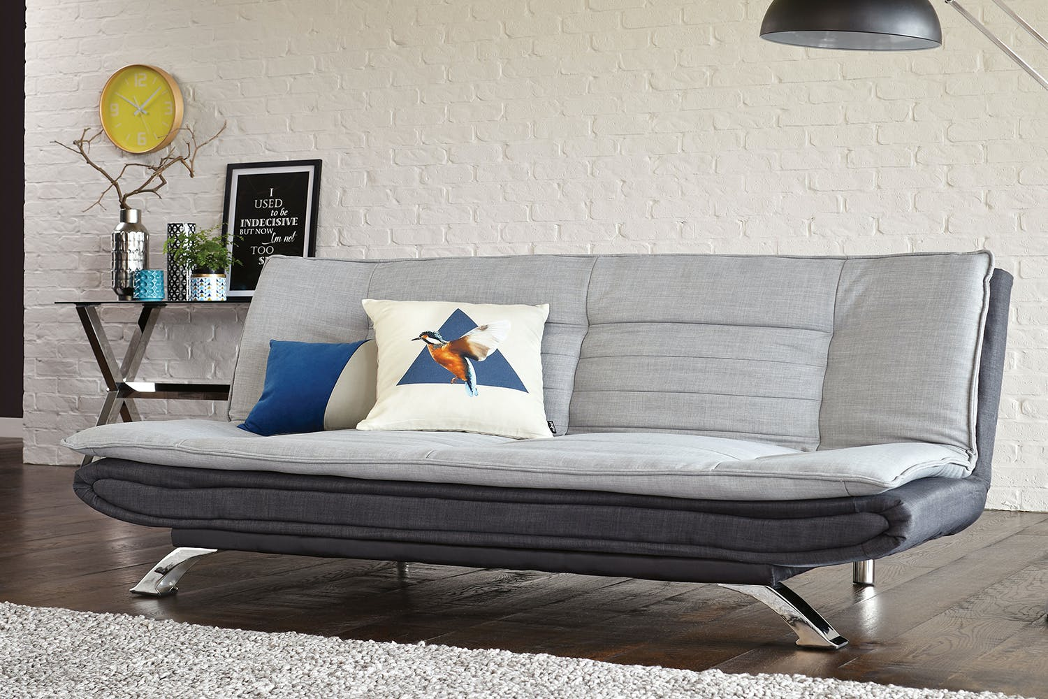 Lauren Fabric Sofa Bed By Debonaire