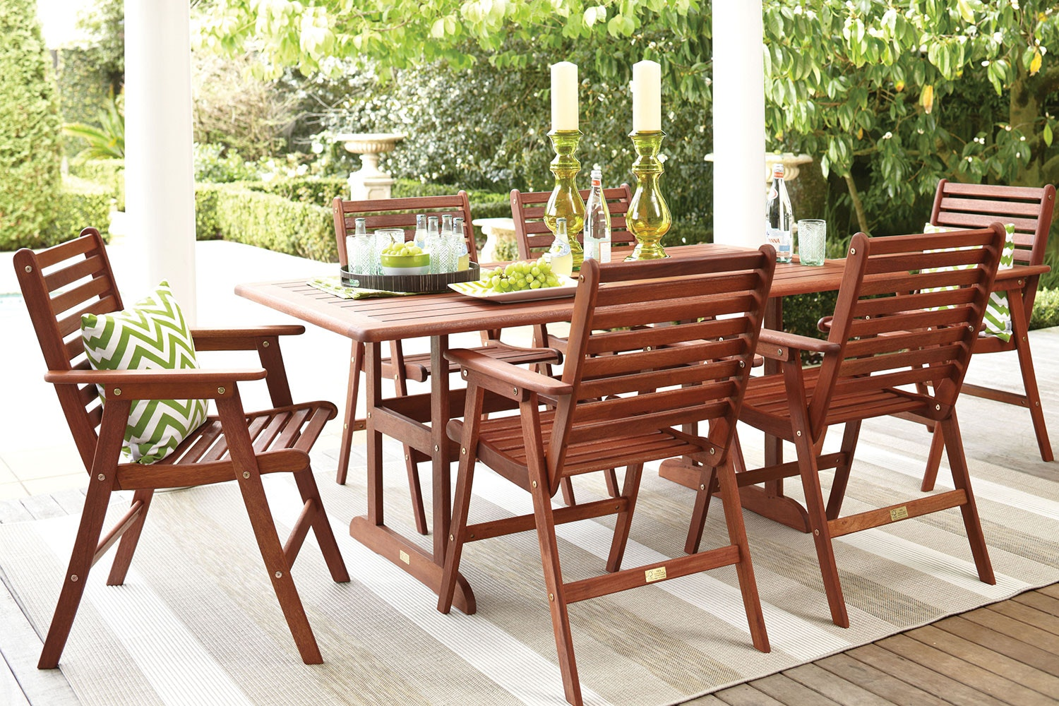 Charming Bentley 7 Piece Outdoor Dining Setting ... Part 16