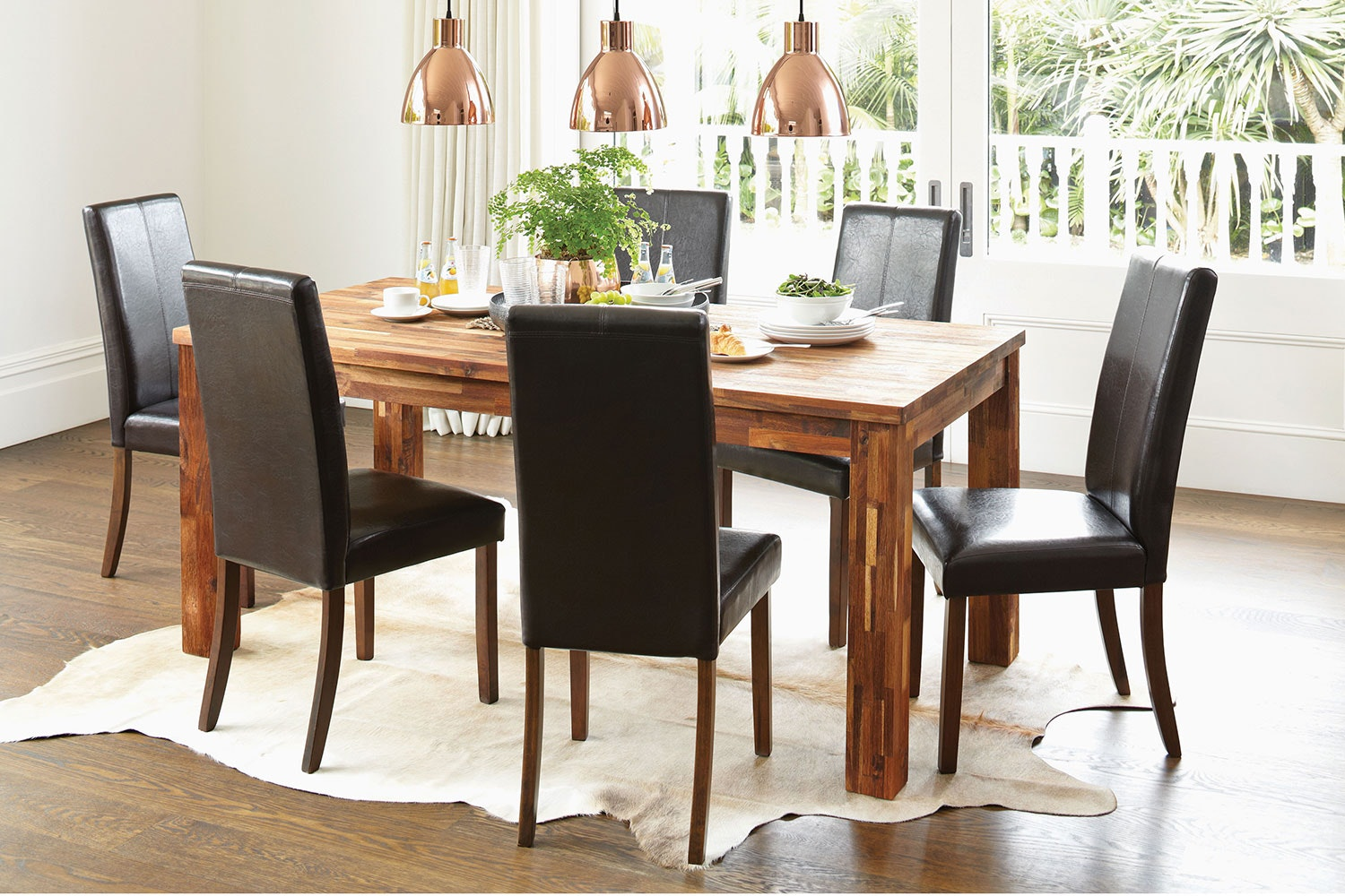 Solomon 7 Piece Dining Suite by Nero Furniture
