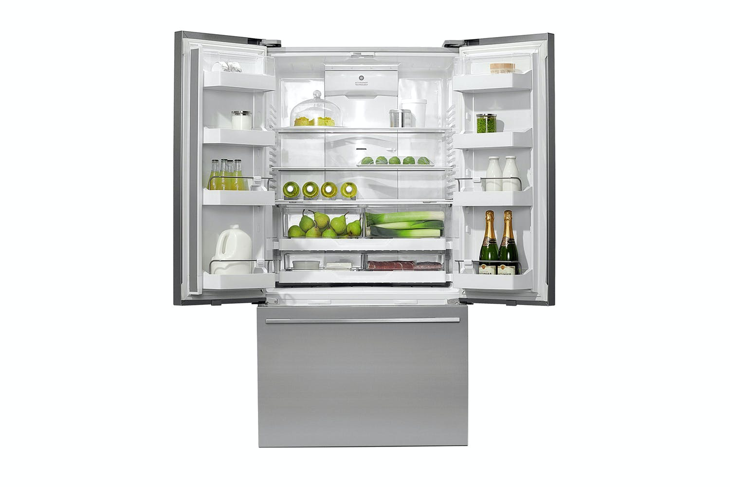 Fisher Paykel 614l Activesmart French Door Fridge Freezer Harvey