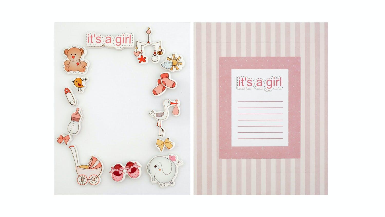 Instax Frame Decoration Kit - Baby Girl | Harvey Norman New Zealand