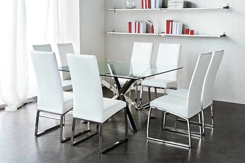 Astrid 9 Piece Dining Table By Debonaire Funiture