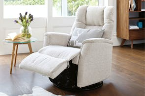 Victor Standard Multi-Function Fabric Recliner Chair by IMG