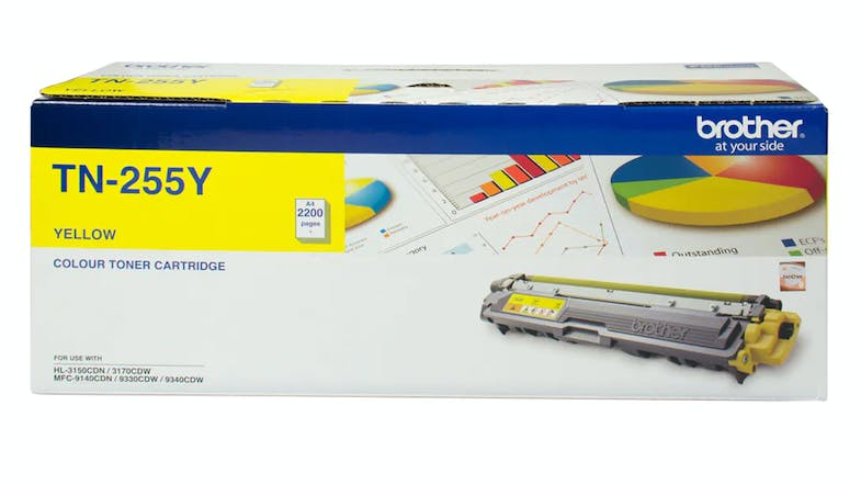 Brother TN255Y Yellow Toner