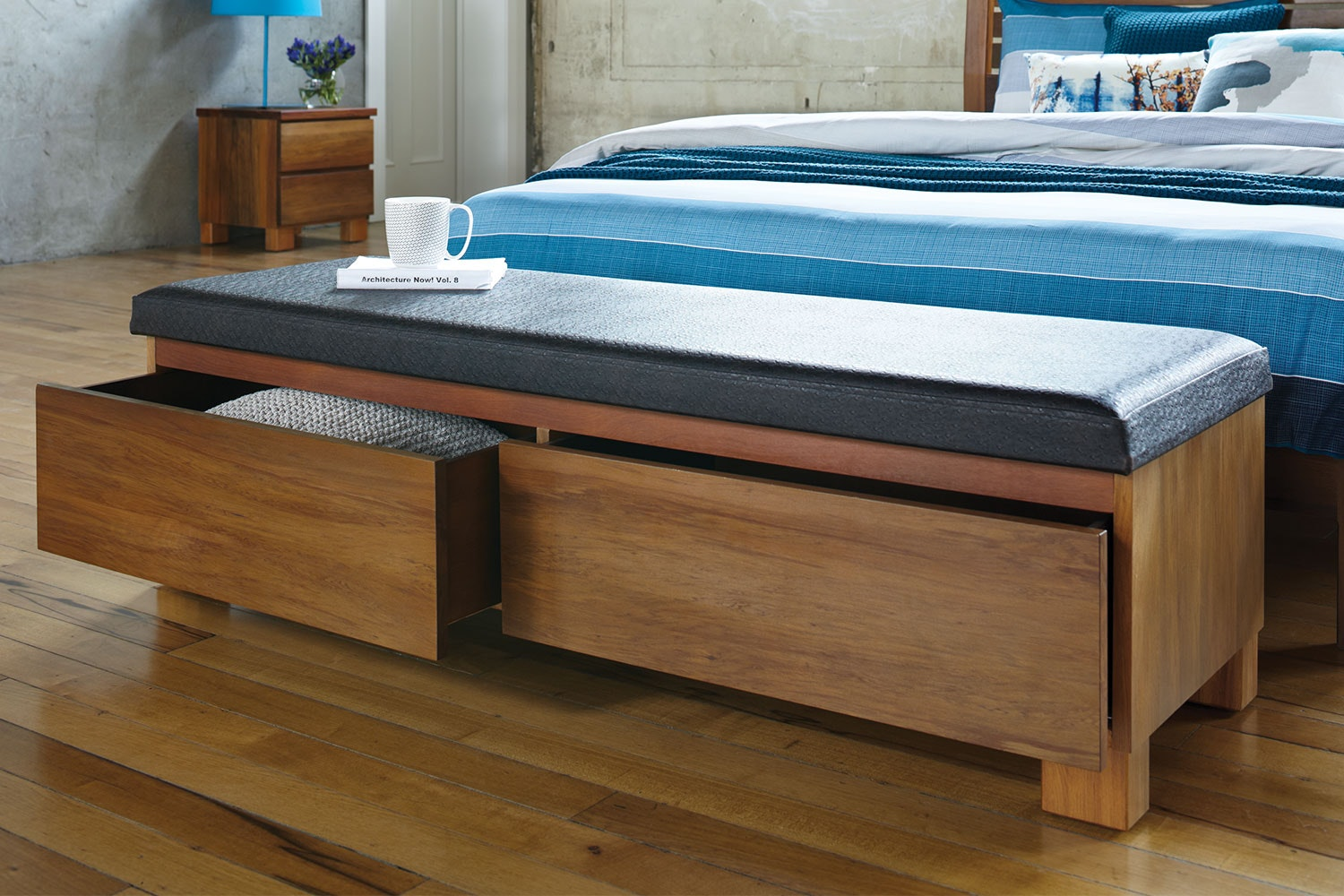 Riverwood Bed End Chest by Sorensen Furniture