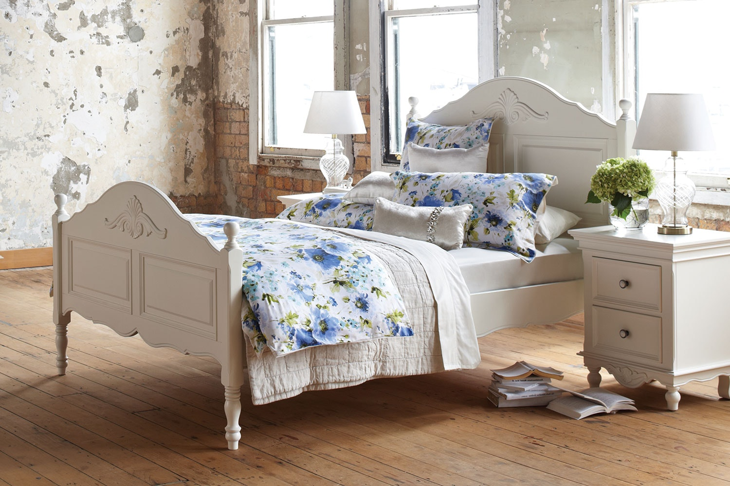 Bianca Queen Slat Bed Frame by Garry Masters