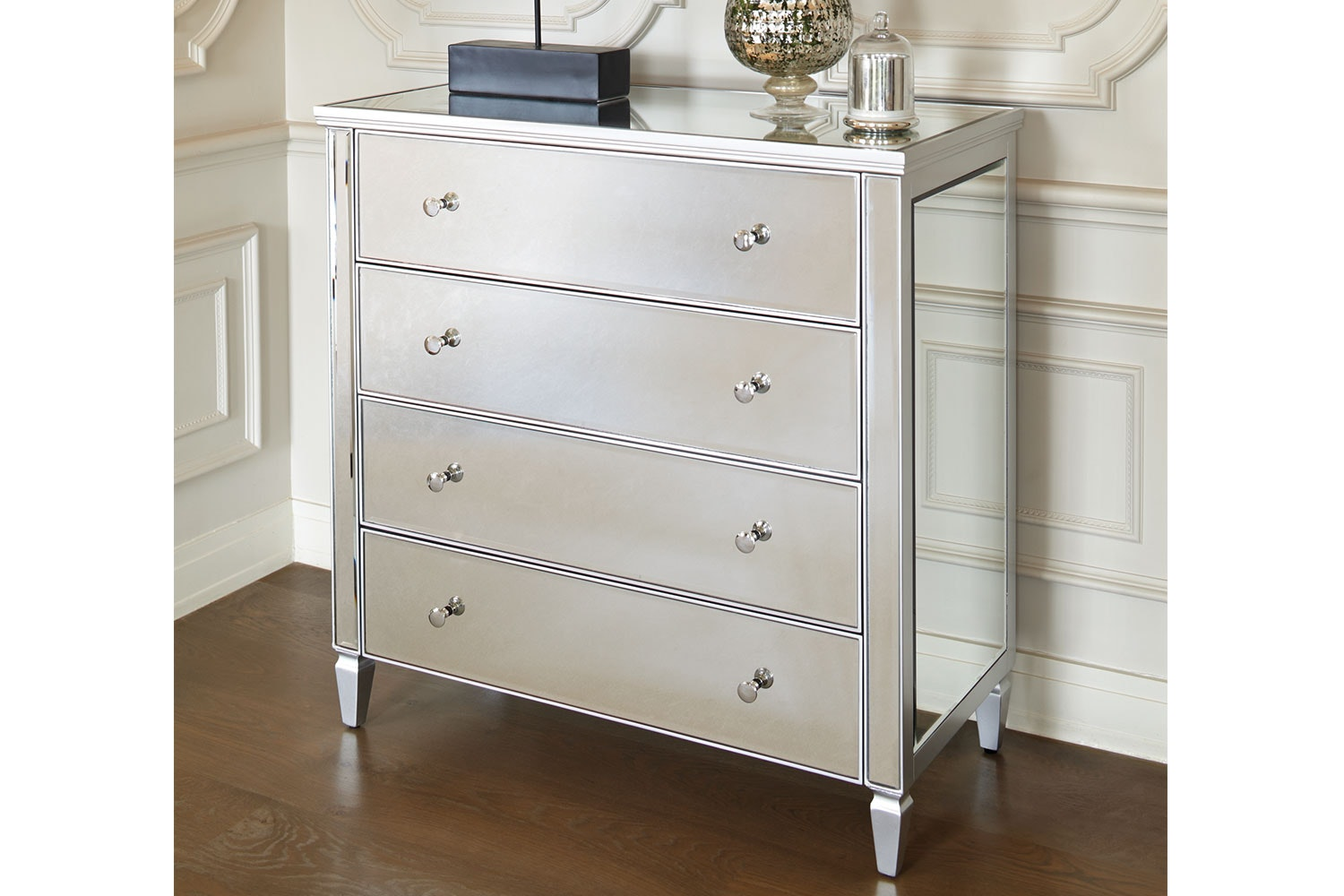 Mirano 4 Drawer Dresser by Nero Furniture