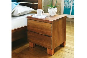 Riverwood 2 Drawer Bedside Table by Sorensen Furniture