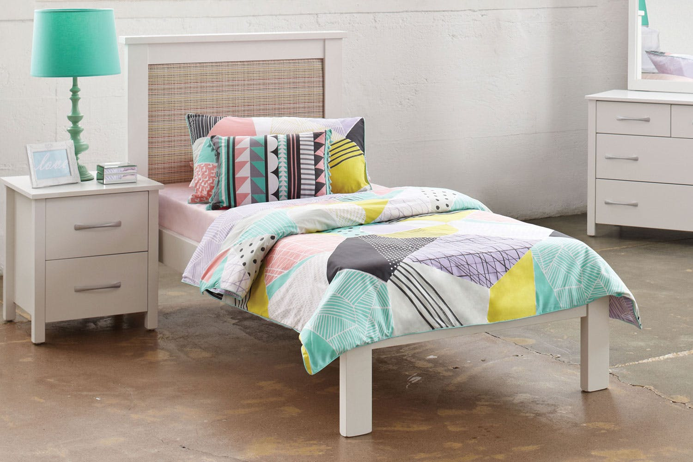 Tillsdale Single Padded Bed Frame by Coastwood Furniture   Harvey ...