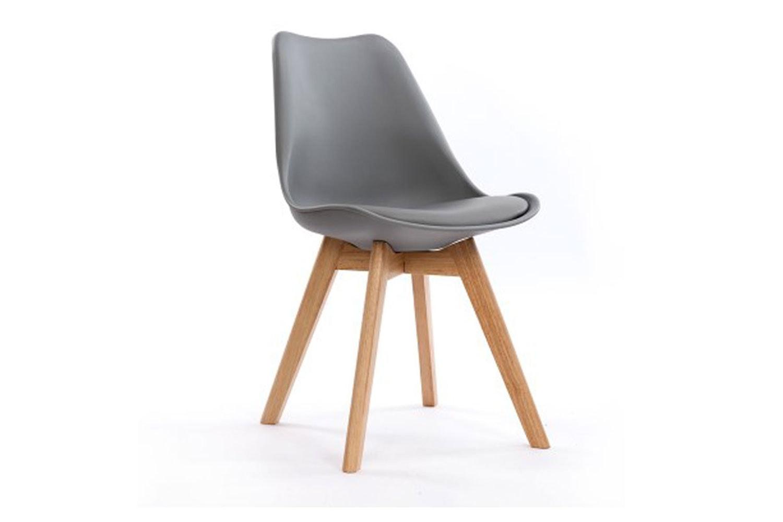 stuka office chair - grey - paulack furniture | harvey norman new