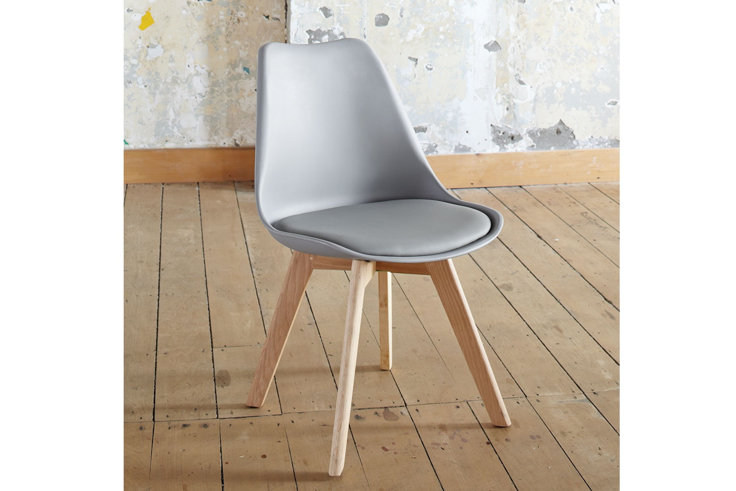 Stuka fice Chair Grey Paulack Furniture