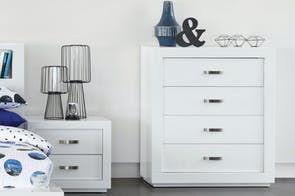 White Gloss Tallboy