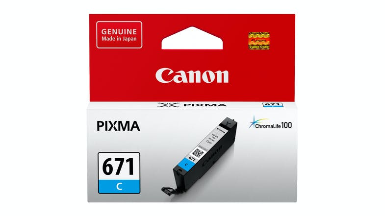 Canon CLI-671C Ink Cartridge - Cyan