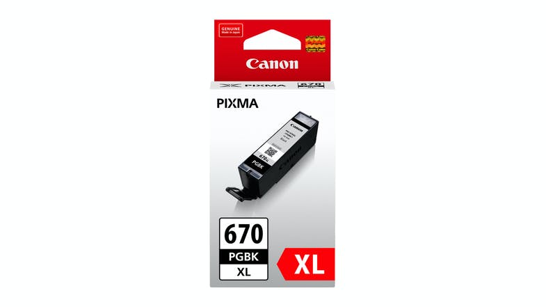 Canon PGI-670BK Pigment Ink Cartridge - Black
