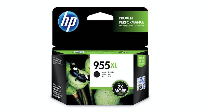 HP 955XL High Yield Black Ink Cartridge