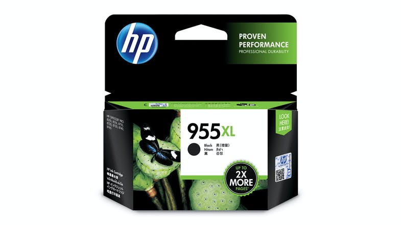 HP 955XL High Yield Ink Cartridge - Black
