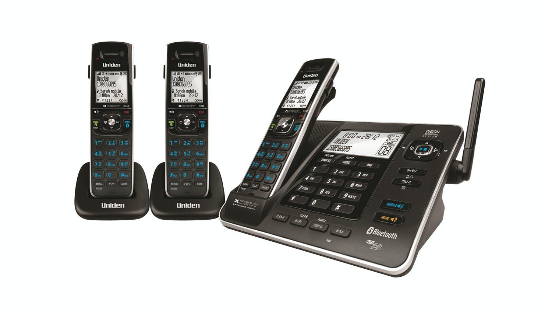 Uniden XDECT 8355+2 Triple Handset Cordless Phone