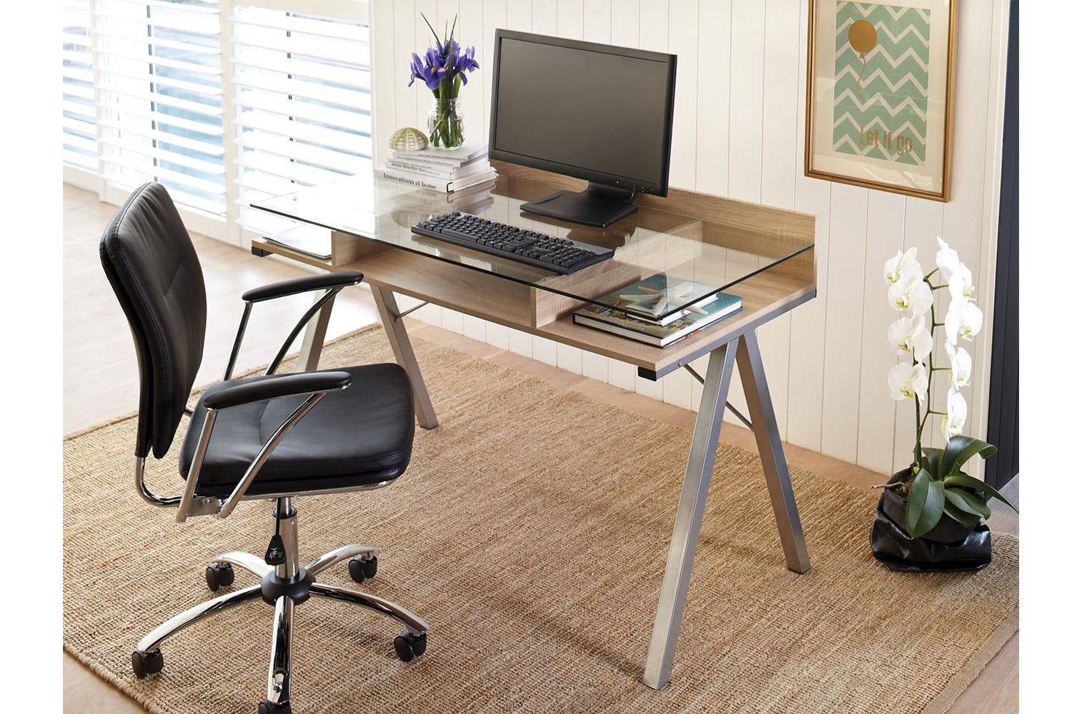 Duo Desk | Harvey Norman New Zealand