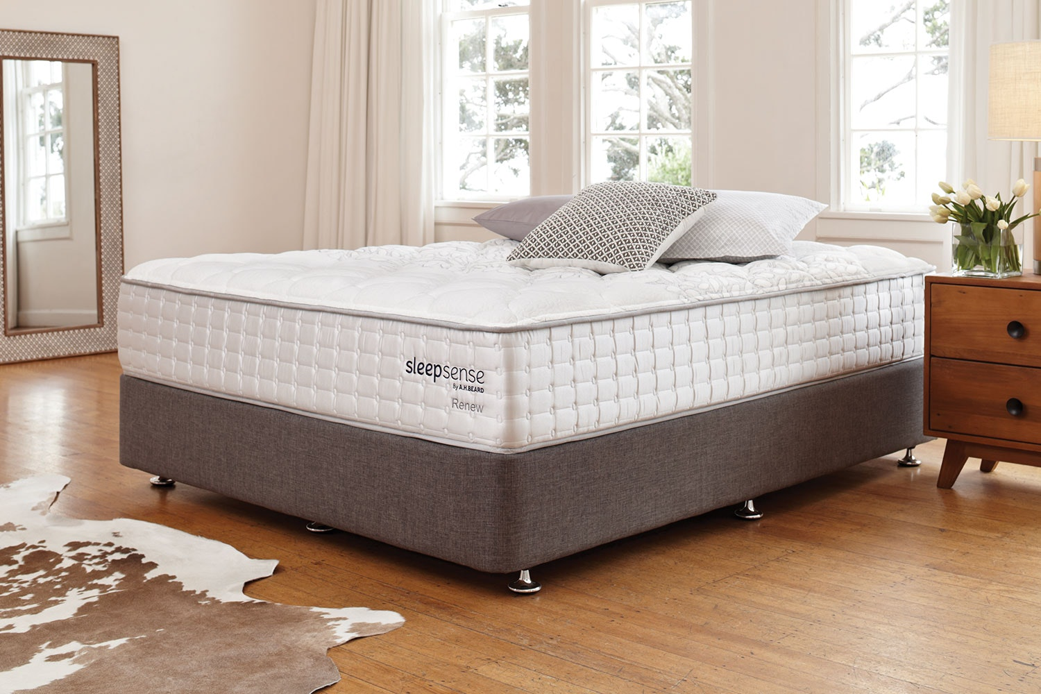 Renew Long Single Bed by Sleepsense