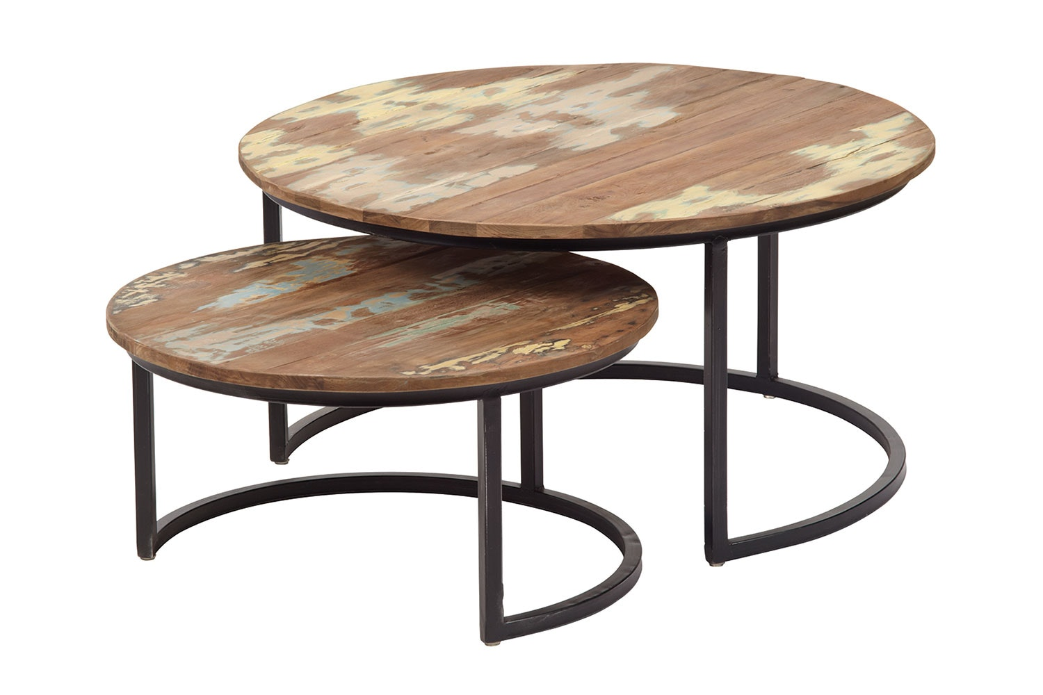 Solo Set of 2 Round Coffee Tables by D-Bodhi Collection