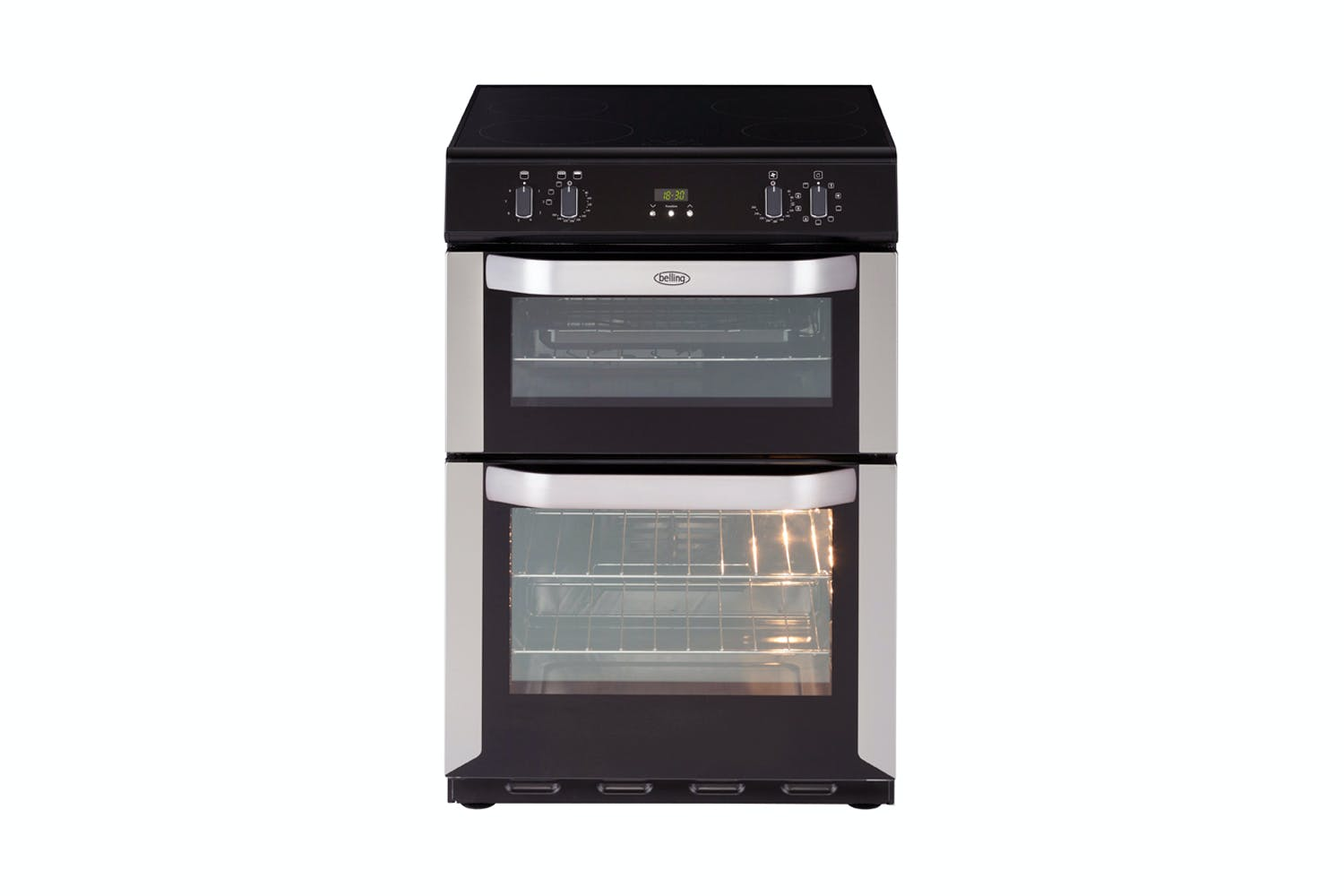 Belling 60cm Freestanding Double Oven With Induction Cooktop Cooker Circuit Board Buy Harvey Norman New Zealand