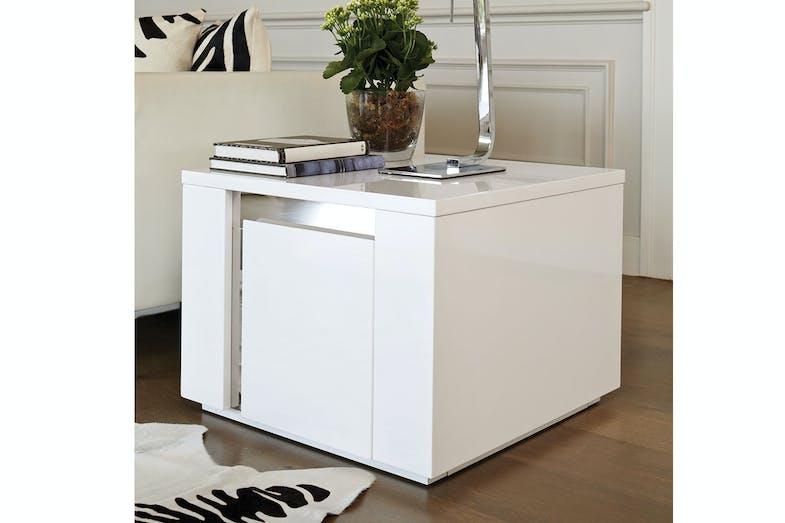 Senti lamp table by insato furniture harvey norman new for Lamp table harvey norman