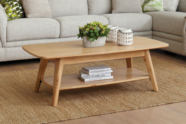 Oslo coffee table by vivin harvey norman new zealand for Coffee tables harveys