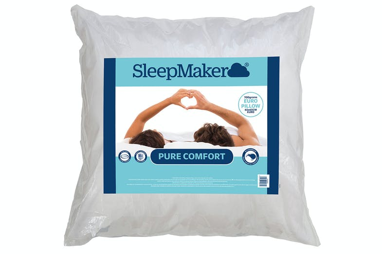 Pure Comfort Euro Pillow by Sleepmaker