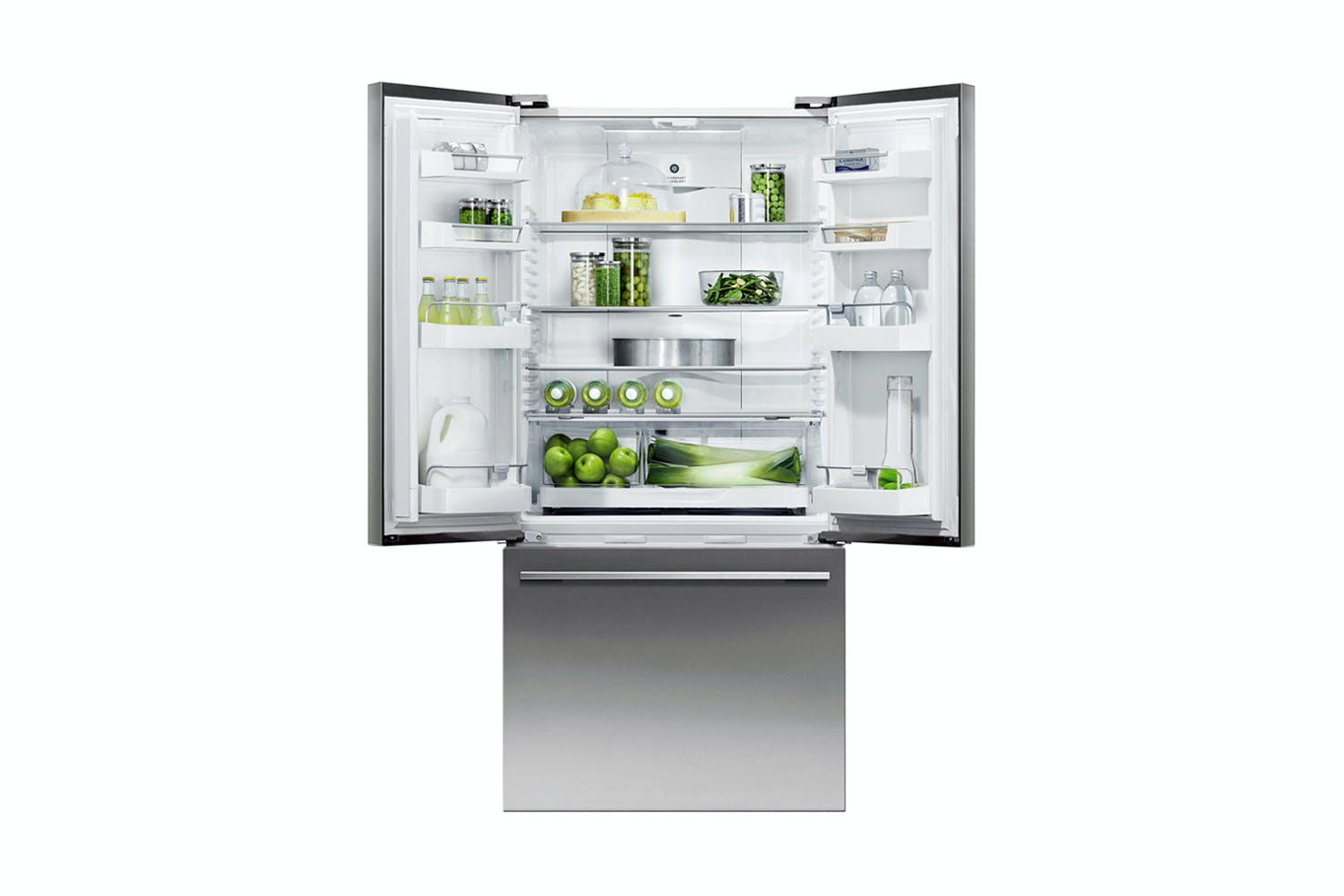 Fisher Paykel 519l Activesmart French Door Fridge Freezer