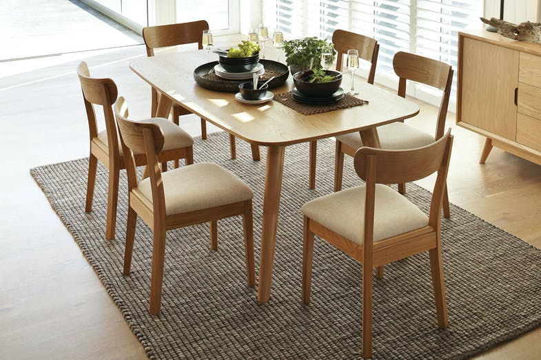 Oslo 7 piece dining suite by vivin harvey norman new zealand - Harvey norman living room furniture ...