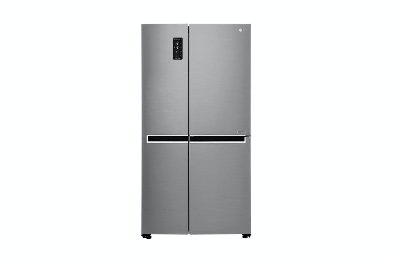 lg 687l side by side fridge freezer harvey norman new zealand. Black Bedroom Furniture Sets. Home Design Ideas