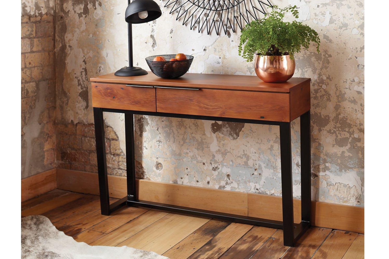 Matai bay hall table by sorensen furniture harvey norman for Hallway table