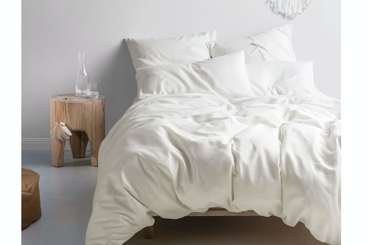 atmosphere or cushion minogue ivory duvet cover throw bed pillowcase itm kylie
