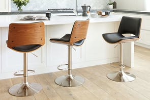 Nimes Bar Stool by Paulack Furniture