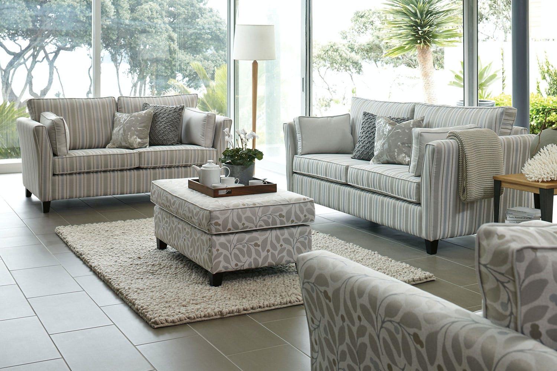 Image of Vienna 2 Piece Fabric Lounge Suite by Evan John Philp