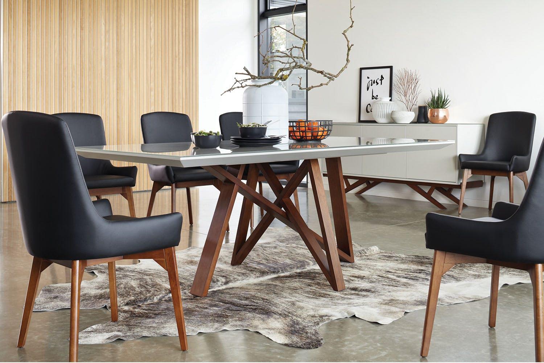 Monte Carlo 7 Piece Dining Suite By Insato Furniture Wishlist