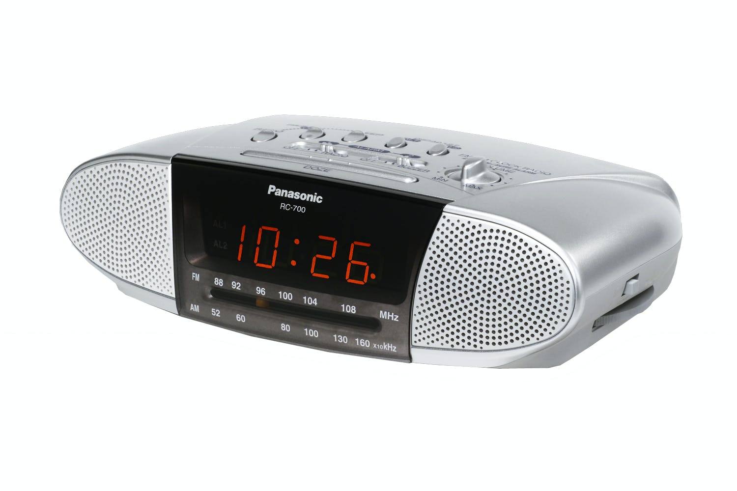 panasonic alarm clock radio harvey norman new zealand. Black Bedroom Furniture Sets. Home Design Ideas