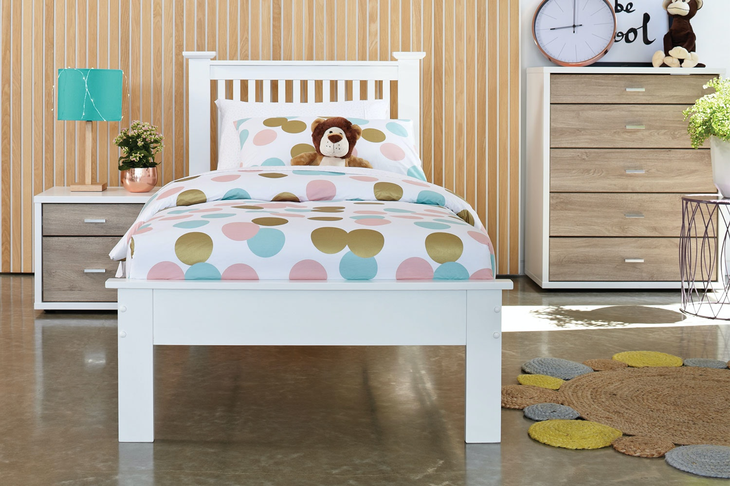 Aston Single Bed Frame by Nero Furniture