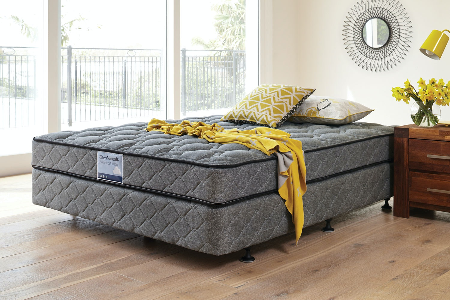 Slumber Support Classic Bed by Sleepmaker