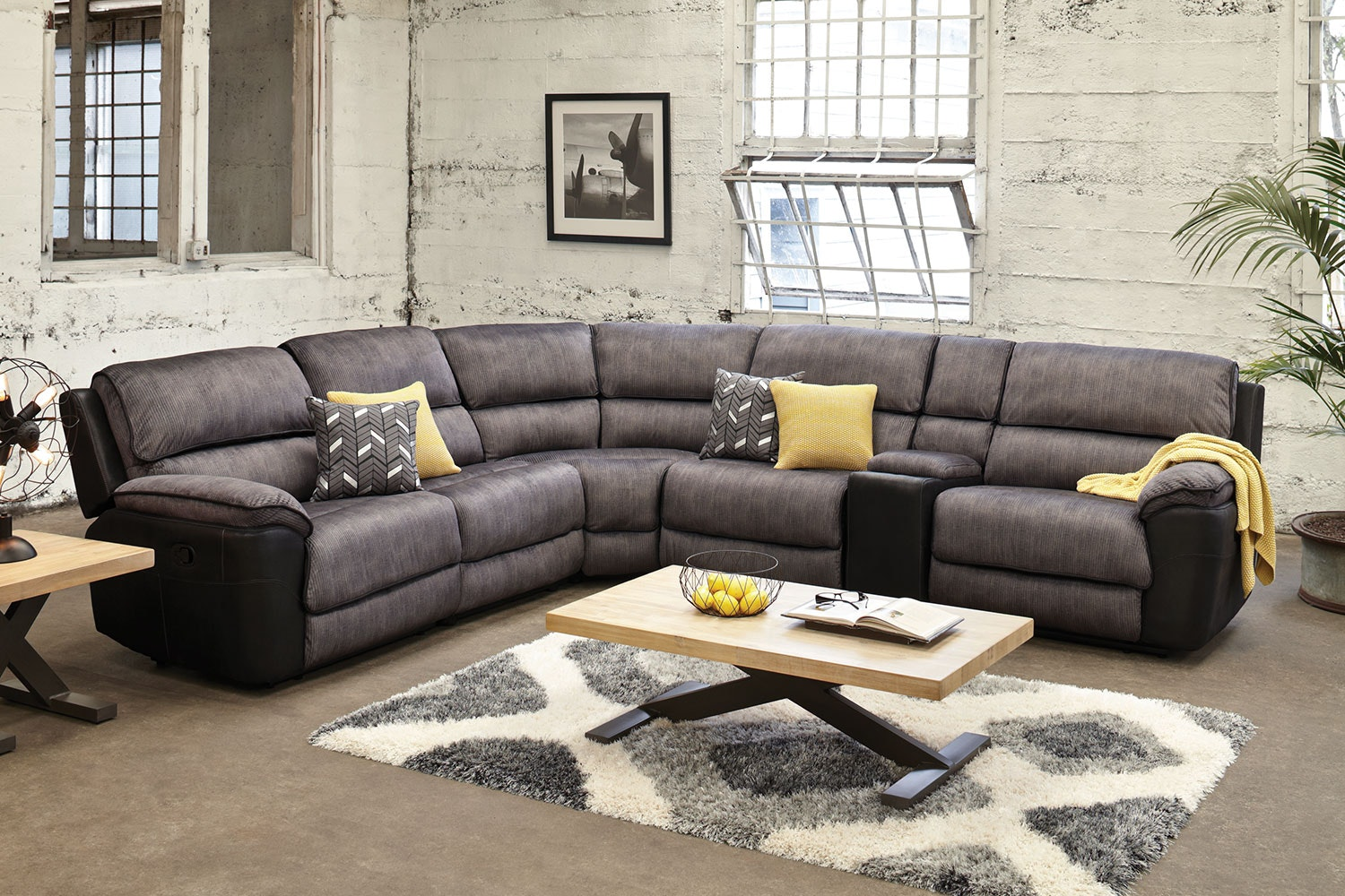 york lounge suite. lachlan 5 seater fabric corner lounge suite by vivin york b